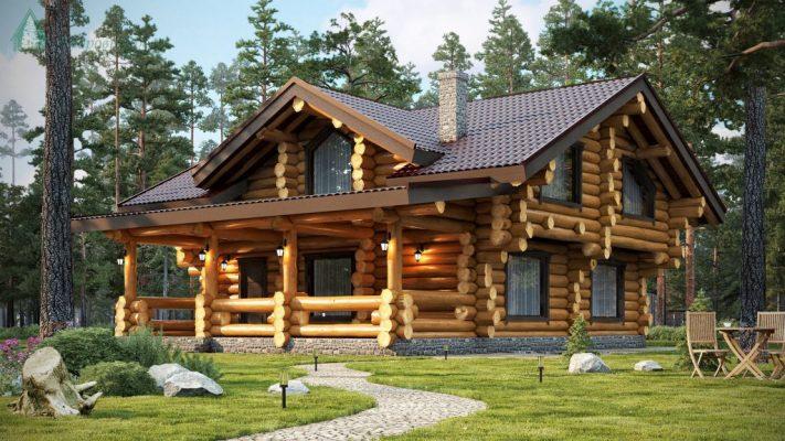 Сколько стоит дом из оцилиндрованного бревна?